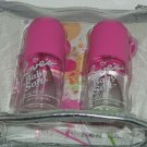 2 Loves Baby Soft Cologne Body Mist Spray Jane Dana Cosmetic Bag Great Gift