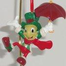 Disney Jiminy Cricket Ornament Holiday Tree Theme Parks Pinocchio New