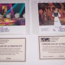 Disney Belle Postage Stamps Beauty & the Beast  Be Our Guest Belle St Vincent