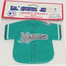 Florida Marlins Jersey Money Pouch Key Ring Clip on Chain NFL Football Sports