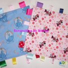 Disney Minnie Mouse Cinderella Tinker Bell Fabric Ribbon Blanket Baby Girl