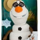Disney Store Frozen Olaf Talking Singing Snowman Plush Anna Elsa VHTF