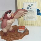 Disney Winnie Pooh Owl Figurine You've done a Very Grand Thing
