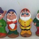Disney Dwarfs Squeaky Toys Dopey Bashful Doc Sneezy Happy Grumpy