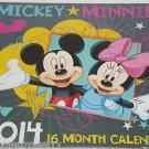 Disney Mickey Minnie Mouse  2014 Calendar 16 Months Daisy Donald Pluto Goofy NIP