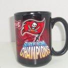 Tampa Bay Buccaneers Coffee Mug Super Bowl XXXVII 37 Black Cup Football NFL