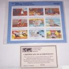 Disney Dumbo Animal Stories Postage Stamps Dumbo Grenada Vintage Retired