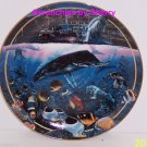 Crystal Waters Maui Collectors Plate Bradford Exchange Ocean Sealife Fish Vinatg