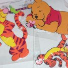 4 Disney Winnie Pooh Tigger Wall Decor Foam Decorations Kids Room Playroom NIP