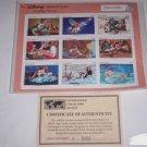 Disney Pinocchio Classic Fariytales Postage Stamps Grenada Mint Retired