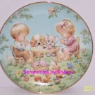 Life's Little Blessings Blessed Are Ye Collector Plate Danbury Mint Retired