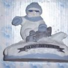 Snow Buddies Slick Doin' an Ollie Skate Boarding Figurine Retired Great Gift