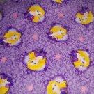 Disney Rapunzel Princess Fleece Blanket Hand Tied Baby Pet Lap Purple