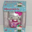 Hello Kitty Ornament Christmas Tree Holiday Pink Metallic  Hang Stand Alone