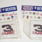2 Dale Earnhardt Sr Magnet  #3 Racing Ceramic NASCAR  NIP Deco