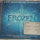 Disney Frozen CD Deluxe Edition Soundtrack 2 Disc  Anna Elsa Sealed