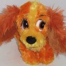 "Disney Lady Plush Toy Tramp Dog Parks Theme Parks  9"" NWTS"