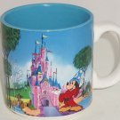Euro Disney Mickey Mouse Castle Mug Cup Opening April 12, 1992 Vintage Retired