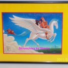 Disney Store Hercules Lithograph Framed Gold Seal Picture Photo Retired Vintage