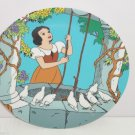 Disney Collection Snow White Plate At The Wishing Well Collector Retired