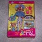 Barbie Kelly Doll Gardening Fun Gift Set MIB Special Edition 1996 Vintage
