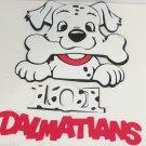 8 Disney 101 Dalmatians Wall Decor Foam Decorations Puppies Dogs Kids Room NIP