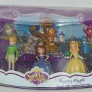 Disney Store Sofia the First Play Set Figure  Flora Fauna Merryweather NIPS