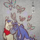 Disney Store Winnie Pooh Eeyore T-Shirt Ladies Gray Size  X-Small XS NWTS