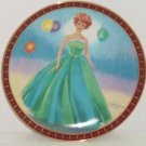 Barbie Collector Plate Senior Prom High Fashion Doll 1963 Danbury Mint Vintage