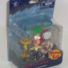 Disney Phineas Freb Drums Play Action Figure Theme Parks NIP