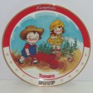 Campbells KidsTomato Soup Plate Bradford Exchange Collectors Rietired Vintage