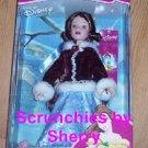 Disney Princess Belle Porcelain Doll Brass Key Holiday Christmas NIB Retired
