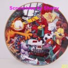Garfield Collector Plate All I Want For Christmas Danbury Mint Holiday Cat