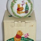 Disney Winnie Pooh Piglet Ornament Christmas Tree Star Makes Difference 1998