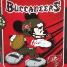 Tampa Bay Buccaneers Disney Mickey Mouse Plush Throw Blanket NFL Football