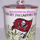Tampa Bay Buccaneers Cookie Jar Football Ceramic Cookies NFL Great Gift