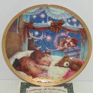 Night Before Christmas Long Winter Nap 175 Anniversary Collector Plate Bradford