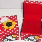 Disney Minnie Mouse Jewelry Box Kids Red Black Polka Dots Theme Parks