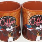 Disney Goofy Mickey's Really Swell Coffee Mug Cup Theme Parks Brown