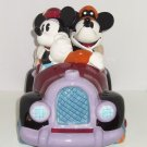 Disney Mickey Minnie Mouse Cookie Jar  Roadster Car Treasure Craft Pfaltzgraff