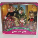 Barbie Kelly Stacie Barbie Doll Holiday Sister Christmas 1998 NRFB Gift Set