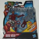 Disney Marvel Avengers Iron Man Heavy Artillery Claw Launcher Action Figure NIP