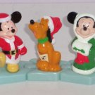 3 Disney Mickey Minnie Pluto Once Upon a Christmas Toys Collectibles McDoanlds