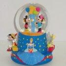 Walt Disney 100 Birthday Snowglobe Cinderella Mickey Miinie Tinker Bell Musical