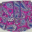 Vera Bradley Saddle Up Boysenberry Purse Shoulder Strap Purple Blue Bag Handbag
