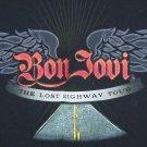 Bon Jovi T-Shirt Concert Last Highway Tour T Shirt Size Med 2008 Rock Roll Band