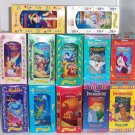 12 Disney Burger King Glasses Snow White Belle Dumbo Aladdin Lion King Pinocchio