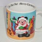 Disney Coffee Mug Santa Claus Mickey Mouse Baby Christmas Tree Holiday Cup