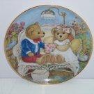 Teddy Bear First Anniversary Collector Plate Franklin Mint COA Teddy Bear Museum