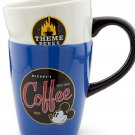 Disney Mickey Mouse Stacked Coffee Mug Cup Really Swell Joe Theme Parks